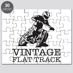 Flat Track One Bike Logo Puzzle