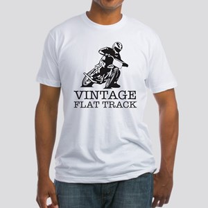 Flat Track One Bike Logo T-Shirt