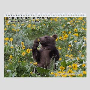 Bear Wall Calendar
