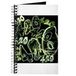 Green 420 Graffiti Collage Journal