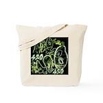 Green 420 Graffiti Collage Tote Bag