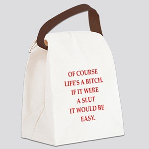 bitch Canvas Lunch Bag