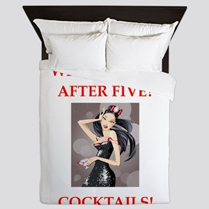 cocktail Queen Duvet