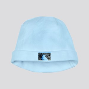 Blue Lagoon in Iceland baby hat