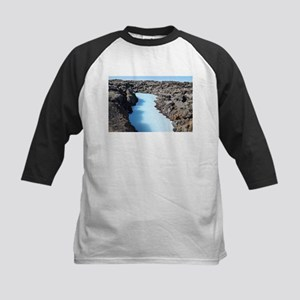 Blue Lagoon in Iceland Baseball Jersey