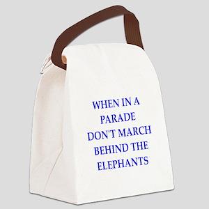 wisdom Canvas Lunch Bag