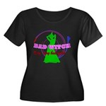 Very, Very Bad Witch Women's Plus Size Scoop Neck
