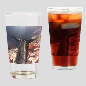 South Kiabab Grand Canyon Mule Ride Drinking Glass