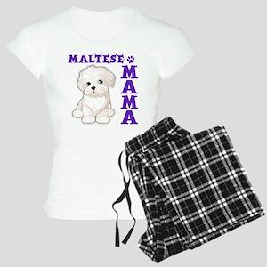 MALTESE MAMA Women's Light Pajamas