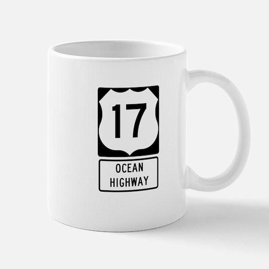 US Route 17 Ocean Highway Mugs