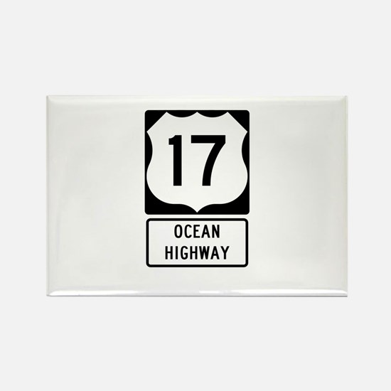 US Route 17 Ocean Highway Magnets