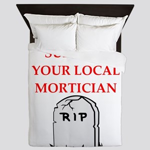 mortician Queen Duvet