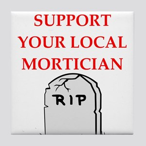 mortician Tile Coaster