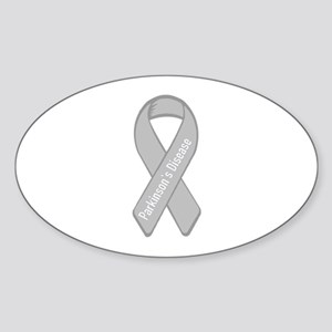 Parkinson's Oval Sticker