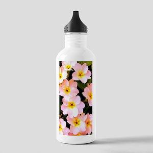 Pink Wildflowers Water Bottle