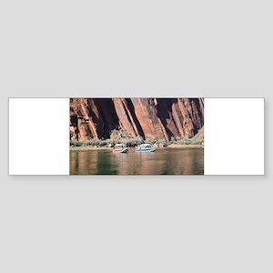 Horseshoe Bend Rafting Bumper Sticker