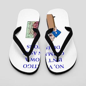funny joke Flip Flops