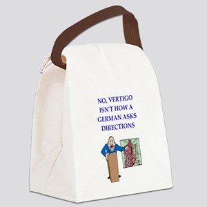 funny joke Canvas Lunch Bag