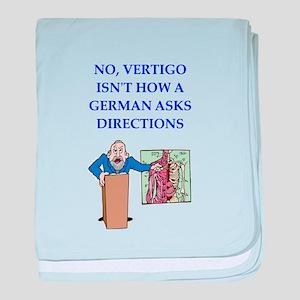 funny joke baby blanket