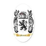 Mowett Oval Car Magnet