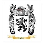 Mowett Square Car Magnet 3