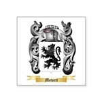 Mowett Square Sticker 3