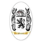 Mowett Sticker (Oval 50 pk)