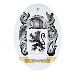 Mowett Oval Ornament