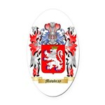 Mowbray Oval Car Magnet