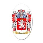 Mowbray 35x21 Oval Wall Decal