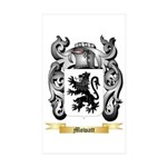 Mowatt Sticker (Rectangle 10 pk)