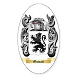 Mowatt Sticker (Oval 50 pk)