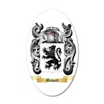 Mowatt 35x21 Oval Wall Decal