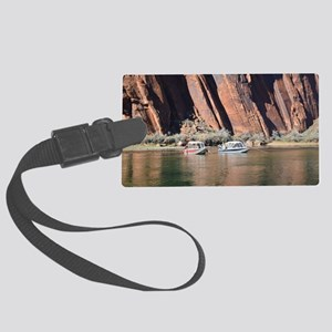 Horseshoe Bend Rafting Large Luggage Tag