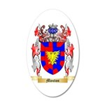 Mouton 20x12 Oval Wall Decal