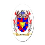 Mouton 35x21 Oval Wall Decal