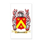 Moussaieff 20x12 Wall Decal