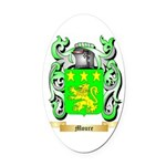 Moure Oval Car Magnet