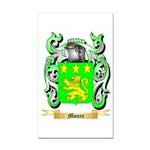 Moure Rectangle Car Magnet