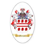 Mouque Sticker (Oval 50 pk)