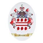 Mouque Oval Ornament