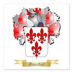Mountfort Square Car Magnet 3