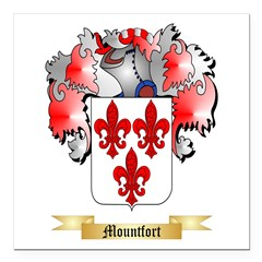 Mountfort Square Car Magnet 3