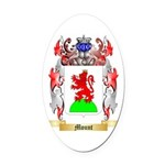 Mount Oval Car Magnet