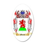 Mount 35x21 Oval Wall Decal