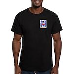 Mounier Men's Fitted T-Shirt (dark)