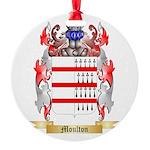 Moulton Round Ornament