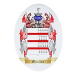Moulton Oval Ornament