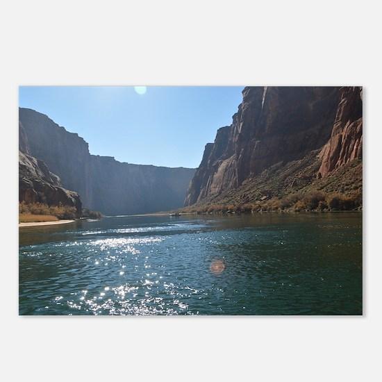 Horseshoe Bend Rafting Postcards (Package of 8)