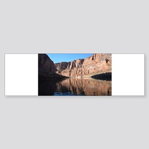 Horseshoe Bend Rafting Bumper Sticker